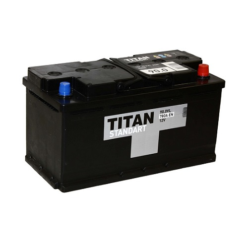 Аккумулятор Титан Standart 6СТ-90 ач о.п.
