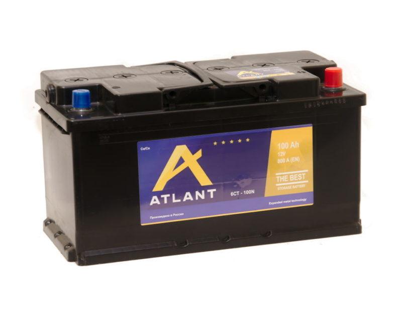 Аккумулятор ATLANT 6СТ- 100 ач п.п.