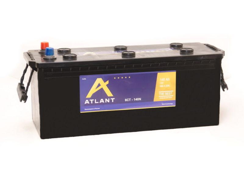 Аккумулятор ATLANT 6СТ- 140 ач рос.