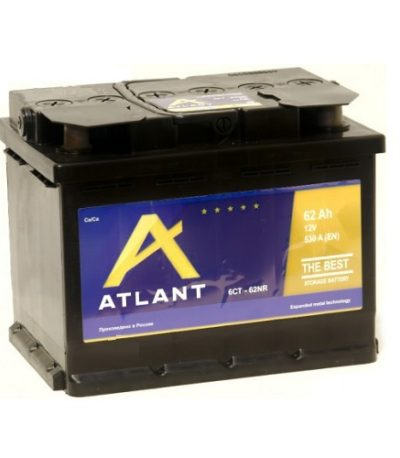 Аккумулятор ATLANT 6СТ- 62 NR