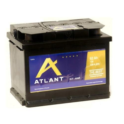 Аккумулятор ATLANT 6СТ- 62 N