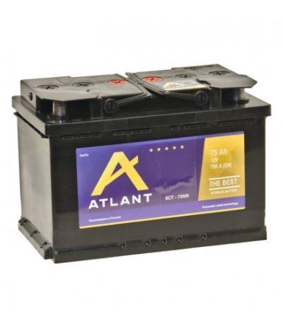 Аккумулятор ATLANT 6СТ- 75 NR
