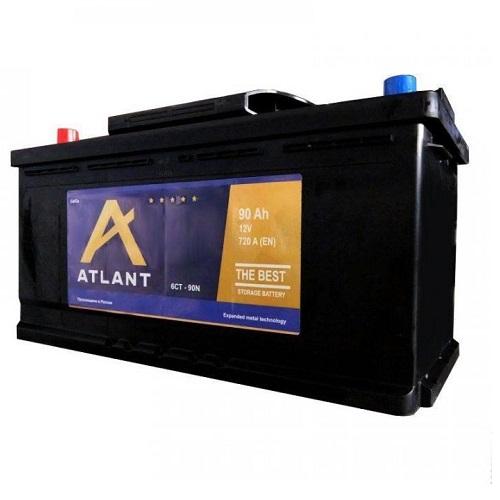 Аккумулятор ATLANT 6СТ- 90 ач о.п.