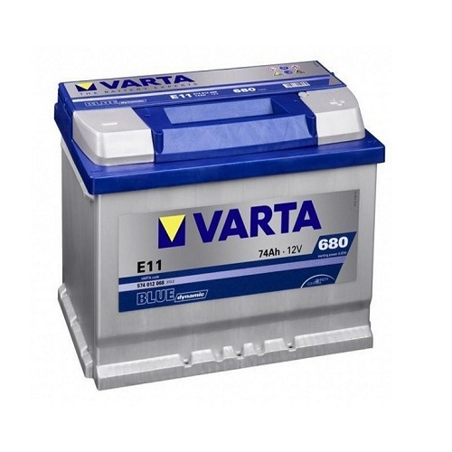 Аккумулятор Varta BD 6CT-74 R (E11)  (о.п.)